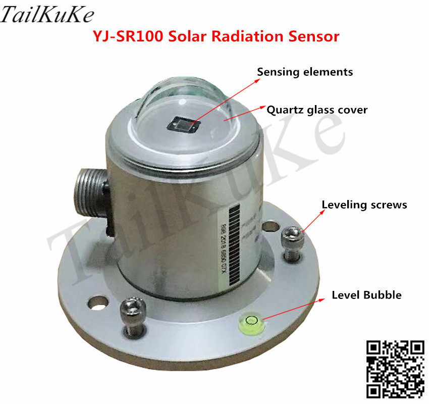 Simple Total Radiation Sensor/solar Simple Total Radiation Sensor