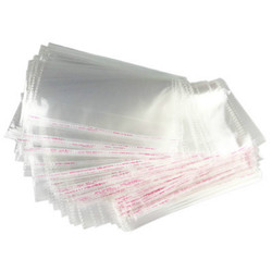 OPP Resealable Cellophane Poly Bags Clear Self Adhesive Seal Plastic Transport Packaging Masks Individually Packaged