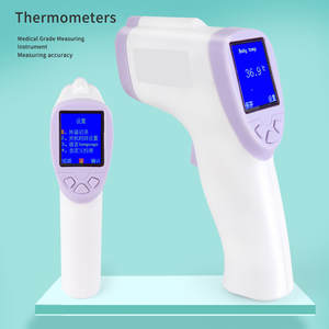 Digital-Thermometer LCD Forehead In-Stock Infraver Baby Adult Backlight Non-Contact