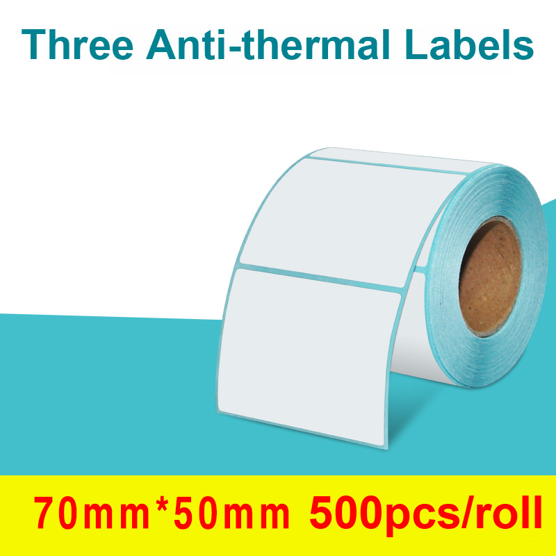 Adhesive Thermal Label Sticker Direct Print Waterproof Print Supplies