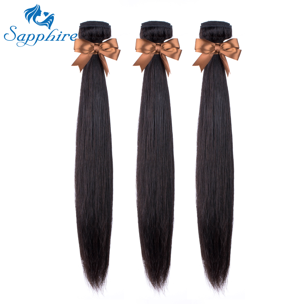 H8d80e4b51d3d46e58a901c2ca44de392e Sapphire Straight Hair Frontal With Bundles Human Hair Bundles With Frontal Brazilian Hair Weave Bundles With Closure Frontal