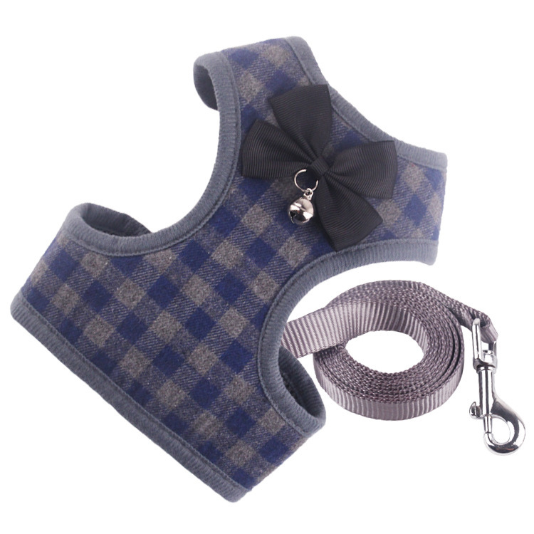 Pet Traction Rope Dogs And Cats Chest And Back Formal Dress Neck Ring Traction Set VIP Pomeranian Tractor Hand Goods