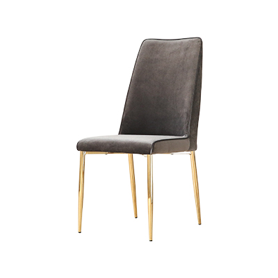 Chair Modern Simple American Velvet Chair Creative Iron Dining Chair Light Luxury Home Designer Dining Chair Postmodern