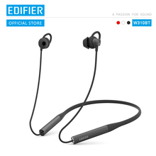 EDIFIER W310BT Bluetooth V4.2 earphone up to 8.5 hours playback IPX5 Waterproof magnetic earpieces incoming call vibration