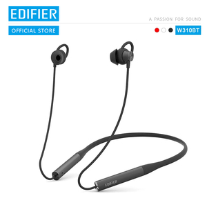 Image 1 - EDIFIER W310BT Bluetooth V4.2 earphone up to 8.5 hours playback IPX5 Waterproof magnetic earpieces incoming call vibration
