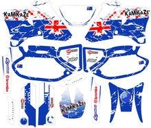 Мотоцикл полный набор 3M графические наклейки для Yamaha WRF400 WRF250 WRF426 2002 2001 2000 1999 1998 WR250F WR400F WR426F