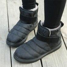 Large Size Winter Shoes Women Snow Boots with Fur Warm Fleeces Cotton Footwear Platform Stylish Como Design Unisex Ankle Boots все цены