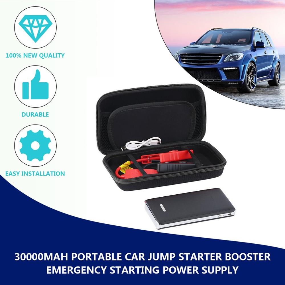 Multi-Function Auto Car Jump Starter Charger 30000mAh Power Bank Battery US