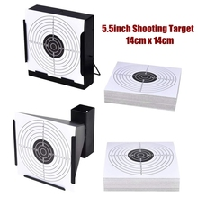 Shooting Targets Pellet-Trap for 100-Paper