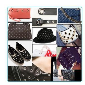 Image 5 - Ojales de Metal con agujeros de 11 colores variados para manualidades, cuero, zapatos de Scrapbooking, cinturón, bolsa, etiquetas para ropa, accesorios de moda, 100 Uds.