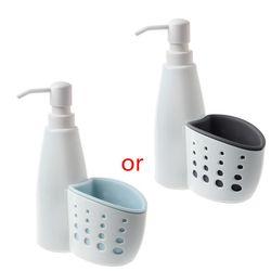Два в одном Диспенсер Коробка для хранения многофункциональный жидкое моющее средство губка дренажная доска мыло держатель для очистки дл...