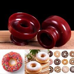 Food Grade pączek formy deser pączek urządzenie do pieczenia pączków Cutter DIY forma do ciasta do ozdób z lukru plastycznego dla piekarni przyrząd do pieczenia przyrząd kuchenny Formy do wafli Dom i ogród -