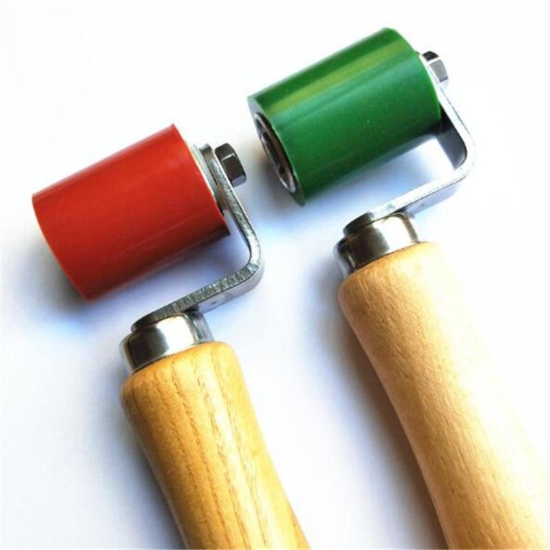 2 Pc Flexible PVC Membrane Tarpaulin Seam Welding Tool Hand Pressure Roller Silicone High Temperature Resistant