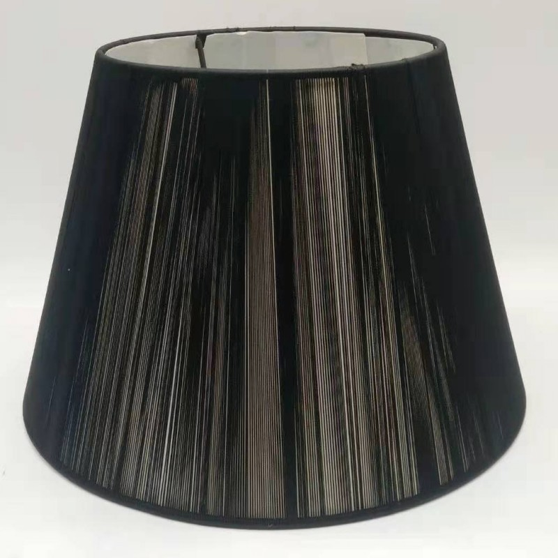 30cm E27 Art Deco Lamp Shades For Table Lamps Black Color Round Fabric Lampshade Modern Style Lamp Cover For Home Decoration Super Sale 01d1 Cicig