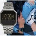 Часы наручные мужские с секундомером, модные брендовые Роскошные Электронные Водонепроницаемые спортивные в стиле милитари, с обратным от...