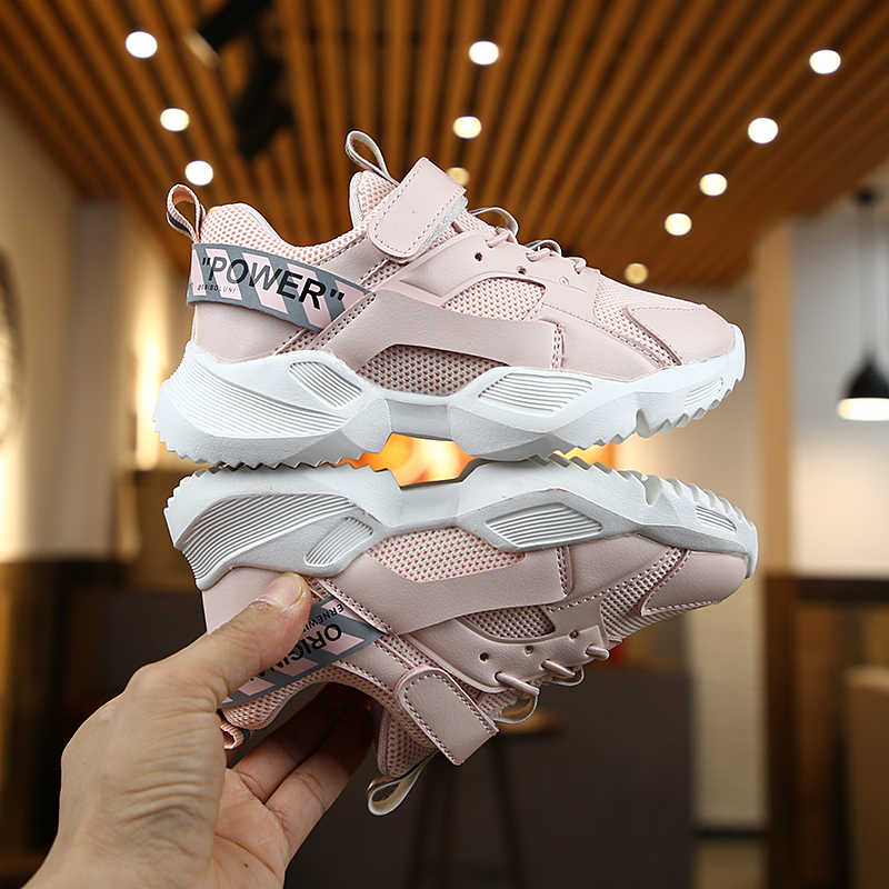 Sports style Kids Baby Sneakers Girls shoes children Running Leisure shoes Student Travel Boys Autumn  Breathable SYY017