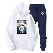 2019 New Photo stamp of volcanic eruption Men Brand Hooded Hoodies Streetwear Hip Hop Mens And Sweatshirts Solid