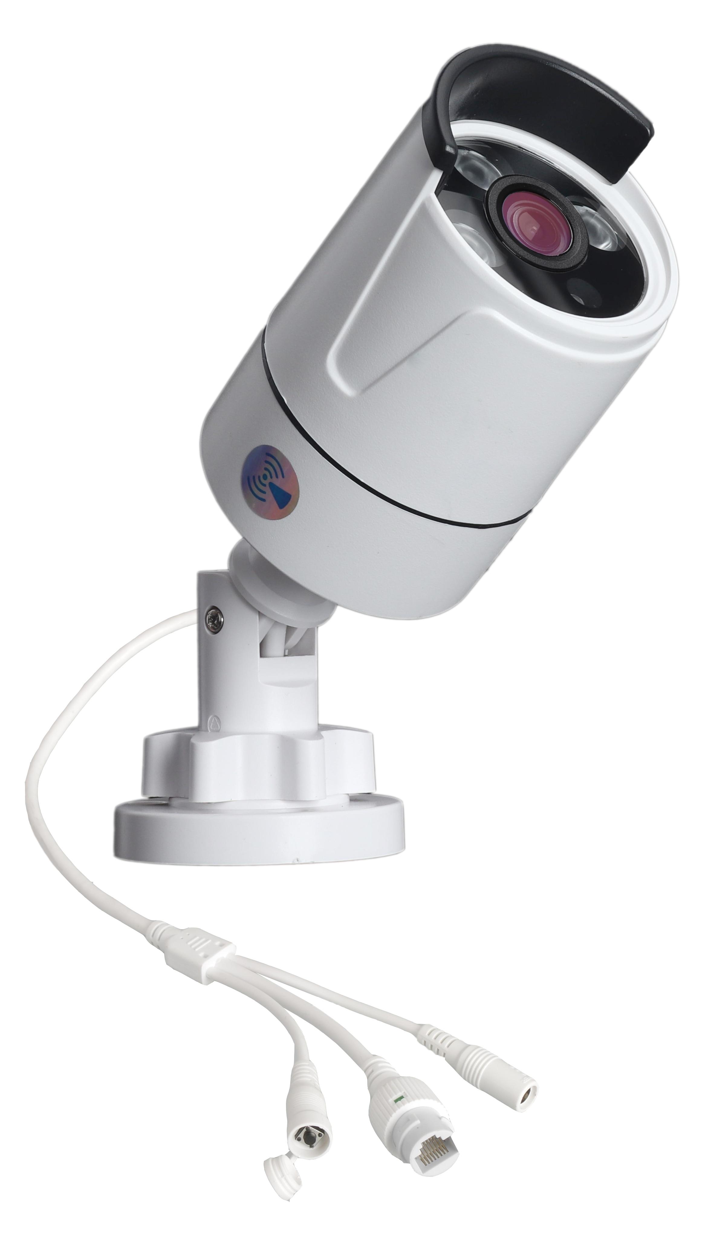 DIDSeth 4CH 1080P sans fil sécurité NVR Kits Wifi NVR avec 4 pièces 2.0MP intérieur extérieur vision nocturne sans fil caméras IP Kit de vidéosurveillance - 4