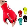 Giyo Breaking Wind Cycling Half Finger Gloves Anti-slip Anti-sweat Bicycle Mittens Racing Sport Road MTB Bike Bicycle Gloves