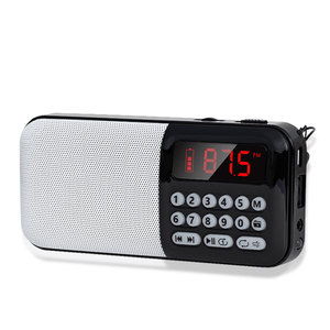 Image 3 - Altavoz inalámbrico portátil con Radio FM y tarjeta TF, reproductor de Radio, MP3, Mini Radio FM con conector para auriculares