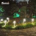 Светодиодный солнечный свет, стилизованные под языки пламени светильник на открытом воздухе украшения сада Фея светильник s IP65 Водонепрони...