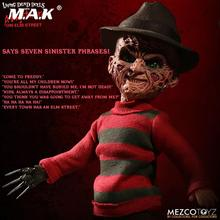 купить In stock 24.5cm Mezco Toyz 99400 10inch Living Dead Ghost Street Freddy Collection Action Figur for Fans Holiday PVC Figure Toys дешево