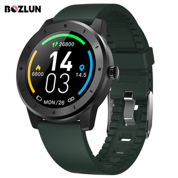 Bozlun GPS Music Control Smart Watch 50M Waterproof Bluetooth Information Push Heart Rate Sport Smartwatch For Android/IOS Phone