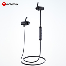 Motorola VerveLoop 105 Neck bluetooth earphone Magnetic Sports Headphones Active Noise Cancelling wireless headset with mic august ep725 wireless sweatproof sports earphones for gym running active noise cancelling bluetooth headphones headsets with mic