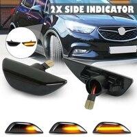 Led Dynamic Side Marker Light Sequential Blinker Turn Signal Light Lamps for Opel Mokka X for Chevrolet Trax