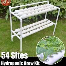 54 locais planta sistemas hidropônicos crescer kit berçário potes anti pragas cultivo soilless jardim interior cultura plantador legumes