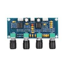 NE5532 Ton Board Preamp Pre-Amp mit Höhen Bass Volumen Einstellung Pre-Verstärker Ton Controller für Verstärker Bord
