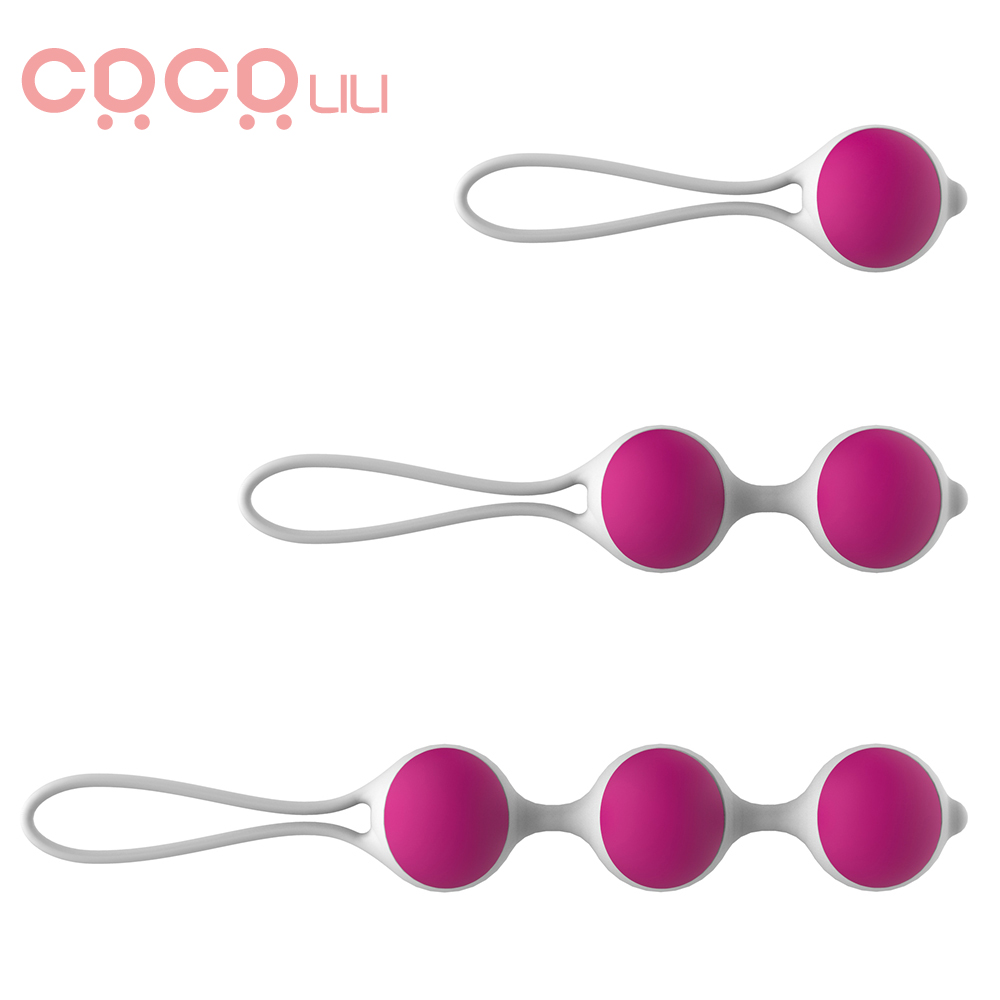 Silicone Smart Kegel Balls Vaginal Chinese Balls Sex Toys For Adults Woman Vagina Tighten Shrinking Ball Intimate Sex Products