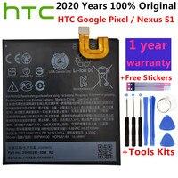 Batería de repuesto B2PW4100 Original para HTC, 2770mAh, Google Pixel / Nexus S1, batería de polímero de iones de litio + herramientas gratuitas