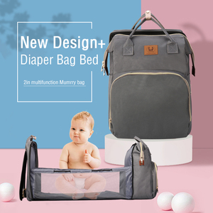 Pre-design Baby Diaper Bag Backpack With Changing Bed Baby Bags For Mom Maternity Nappy Bag Large Capacity New