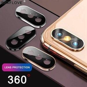 Image 2 - Gehärtetem Glas Auf Für iPhone 11 Pro X XS Max Glas Kamera Objektiv Screen Protector Für Apple iPhone11 Pro Max schutz Glas Film