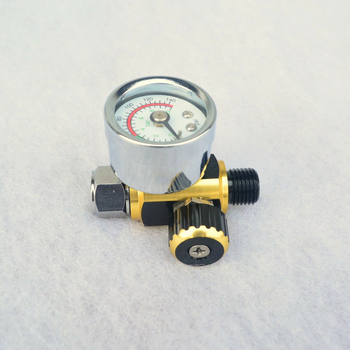 цена на Adjustment Air Control Pressure Gauge Compressor Regulator For Devilbiss & Iwata Spray Tool 0-10 Bar (0-140 PSI)