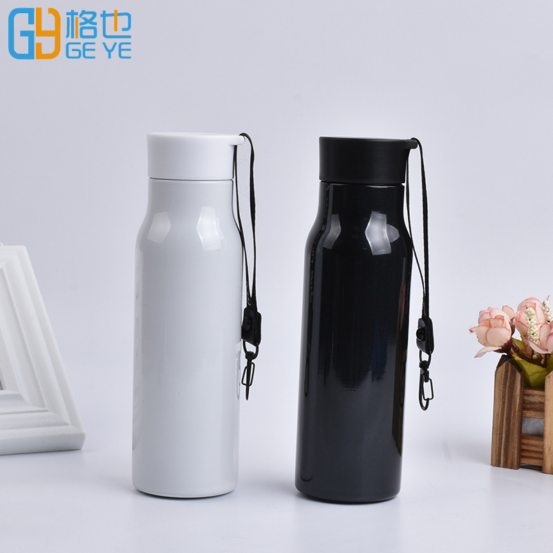 Athletic Insulated Cup with Sports Lanyard 350ml Stainless Steel Vacuum Flask|Sports Bottles| |  - title=