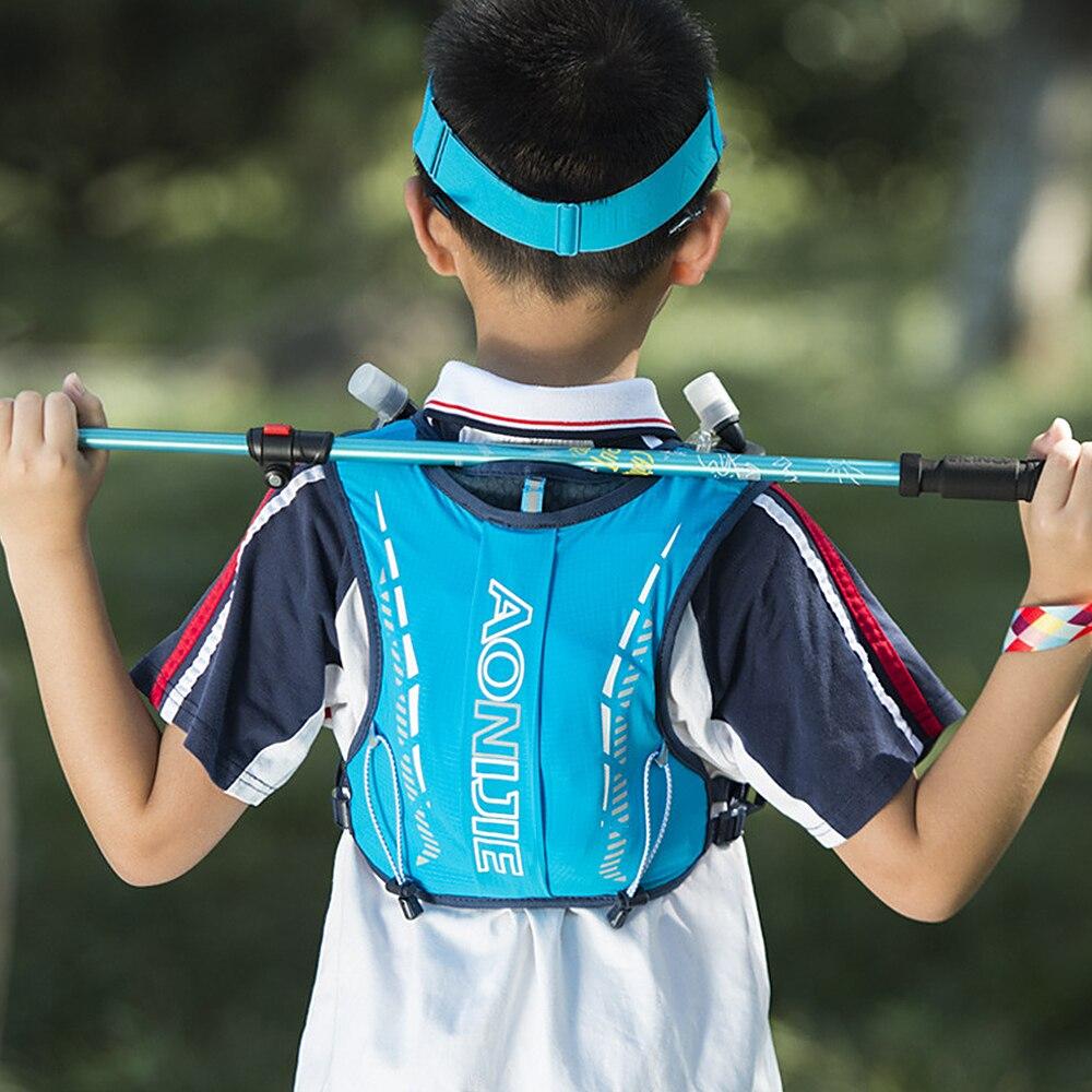 Детский сверхлегкий рюкзак AONIJIE, жилет для бега, сумки для гидратации на открытом воздухе, походная сумка для девочек, мальчиков, детей от 6 д...