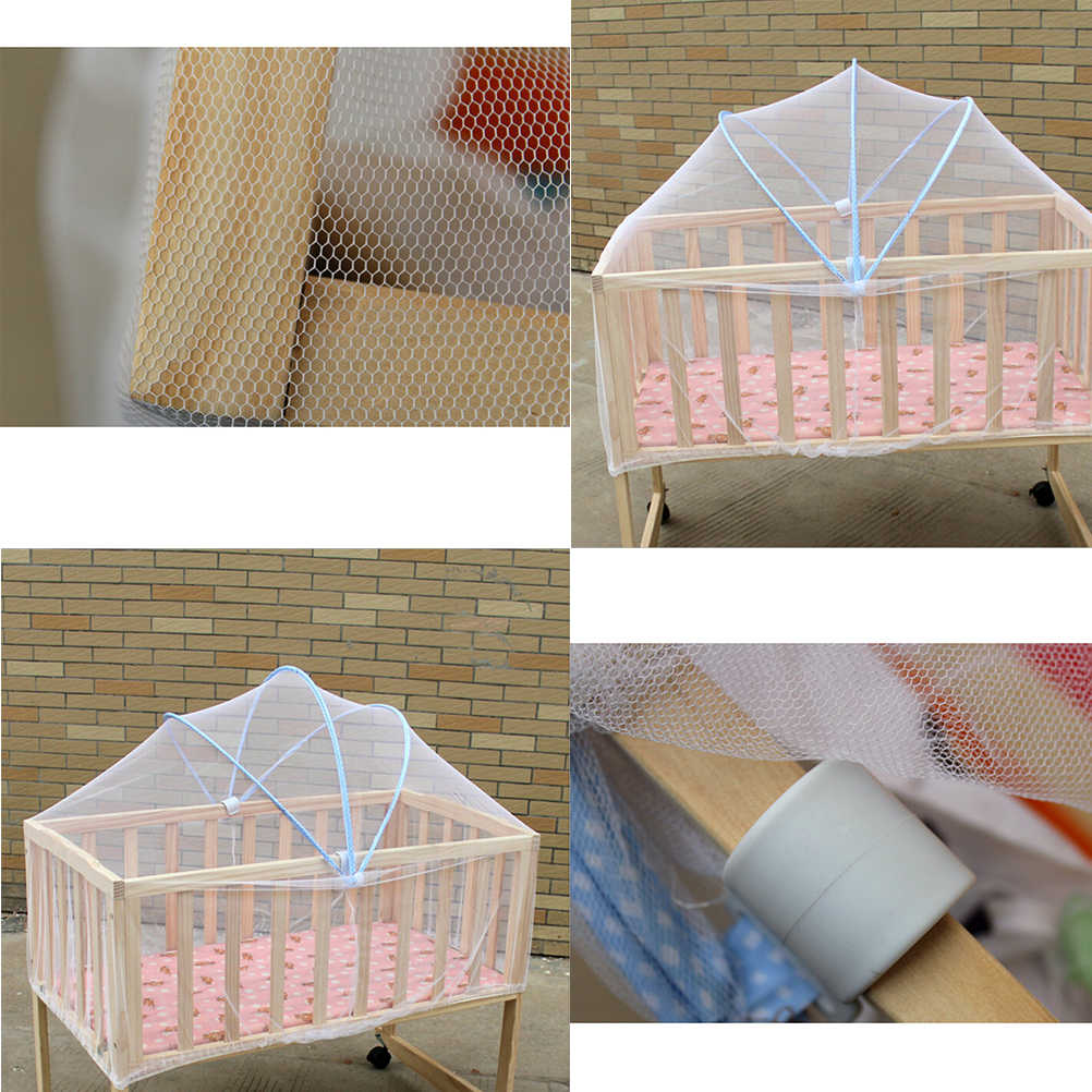 Facile da Installare Proteggere Da Skeeter Portatile Culla Della Zanzara Estate Netto Multi Funzione Cradle Bed Pezze