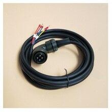 SGMGH 13ACA61 Yaskawa Servo Motor Power Cable 1KW 3.8KW High power 4 core Power Line