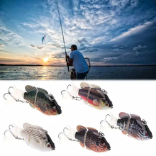 7.5/13.5g Autumn Outdoor Fishing Bait 3D Marine Artificial Fake Hard Multi-section Swing