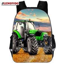 Tractor School Bag For Boys Orthopedic Kid Toddler Backpack