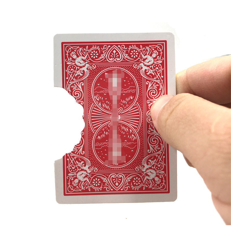 Professional Bite Out Card Magic Tricks Card Magic Illusions Card Tricks Stage Magic Mental Magic Props Illusion Mentalism