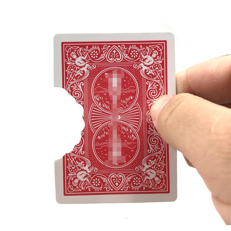 Professional Bite Out Card Magic Tricks Card Magic Illusions Card Tricks Stage Magic Mental Magic Props Illusion Mentalism