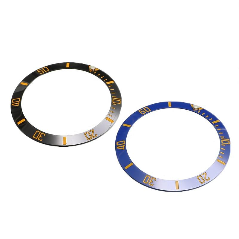 38mm Watch Bezel Ceramic Watch Face Inner Diameter 30.7mm Men's Watches Watch Replacement Parts Accessories