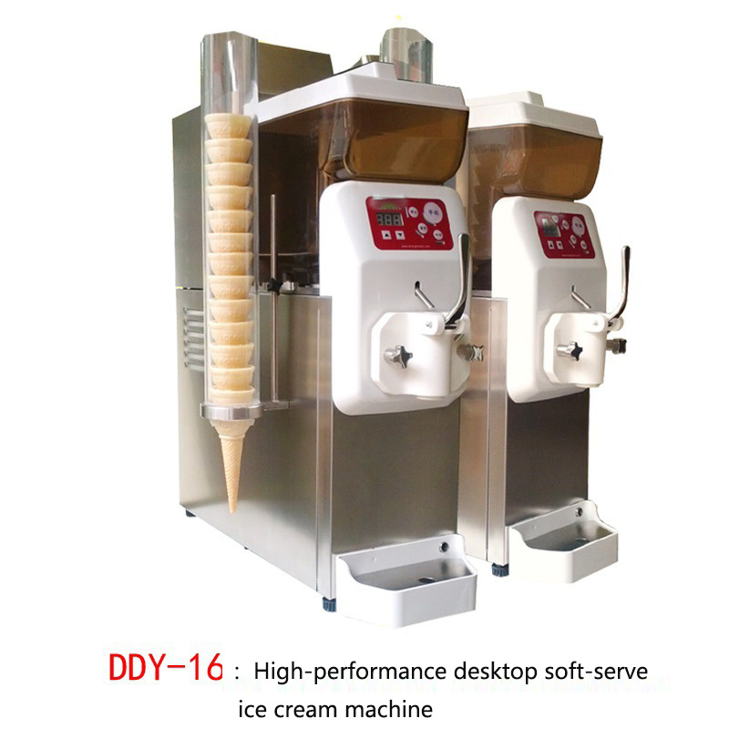 Taiwan Commercial Ice Cream Machine -16 Small Automatic Ice Cream Machine Cold Drink Ice Cream