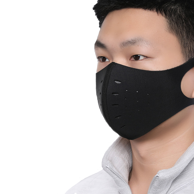 H8d85fc40ba124c3da100beb8c779790f1 Outdoor Cycling Face Mask Bicycle Dust-proof Sport Face Mask With Filter Anti-Pollution Running Training MTB Bike facemask