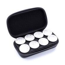 Капсула кофе сумка для хранения Вмещает 8 Pods портативный эспрессо коробка Nespresso защитный чехол для переноски для кемпинга путешествия