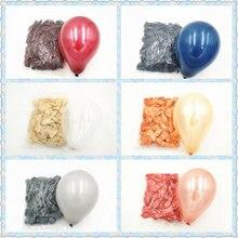 10/50 100 шт 5 дюймов жемчужно розово золотые латексные шары