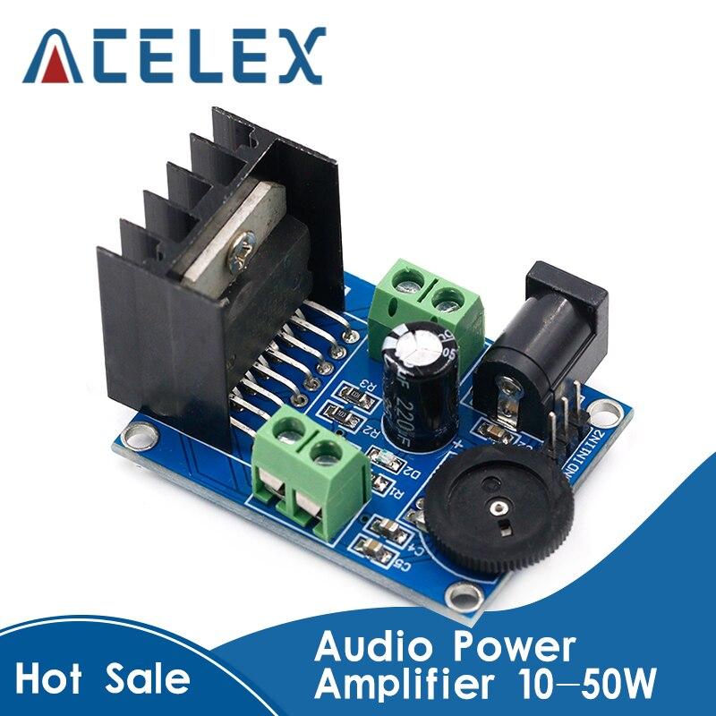 Высокое качество аудио усилитель мощности DC 6 до 18 в TDA7297 модуль двухканальный 10 50 Вт|channel power|channel amplifierchannel power amplifier | АлиЭкспресс